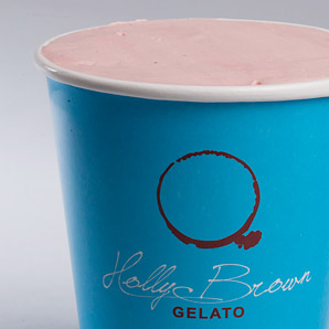 Freshly made daily Gelato Tubs by Holly Brown